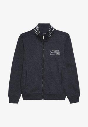 veste en sweat zippée - dunkel blau orig