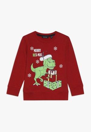 CHRISTMAS - Sweatshirt - rot orig