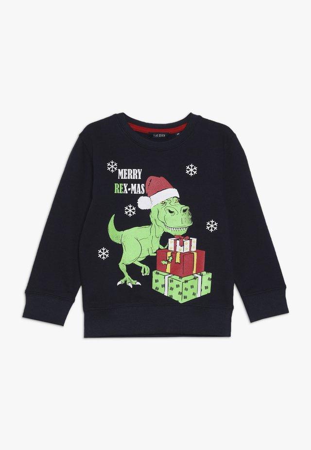 CHRISTMAS - Sweatshirt - blau