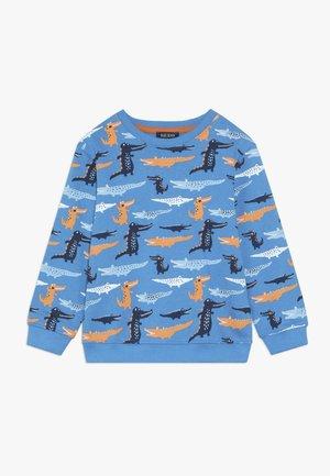Sweater - cyan