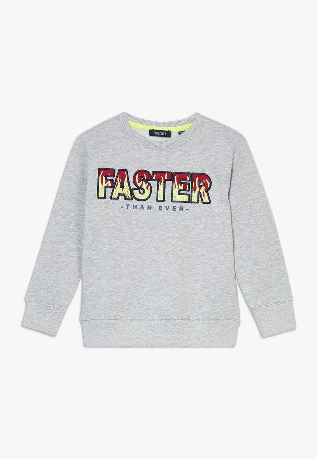 KIDS GREY FAST FLAMES  - Sweatshirt - nebel orig
