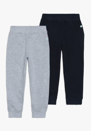 2 PACK  - Trainingsbroek - blau/nebel