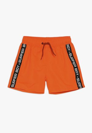 BEACH BERMUDA - Zwemshorts - neon orange