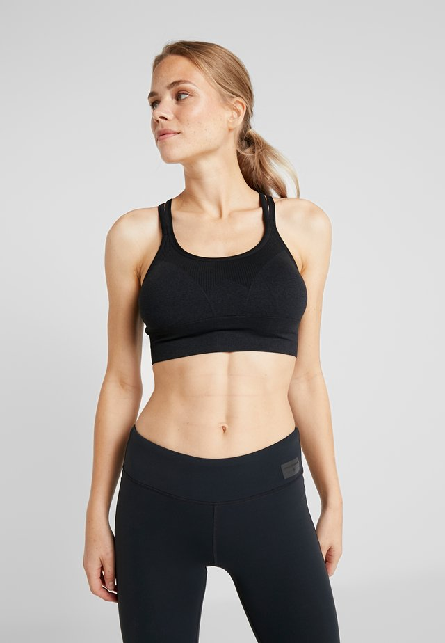 CRUX BRA - Sports bra - carbon