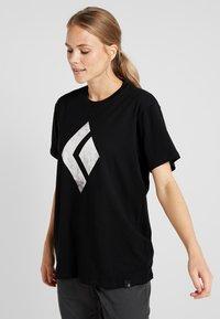 Black Diamond - CHALKED UP TEE - Camiseta estampada - black - 0