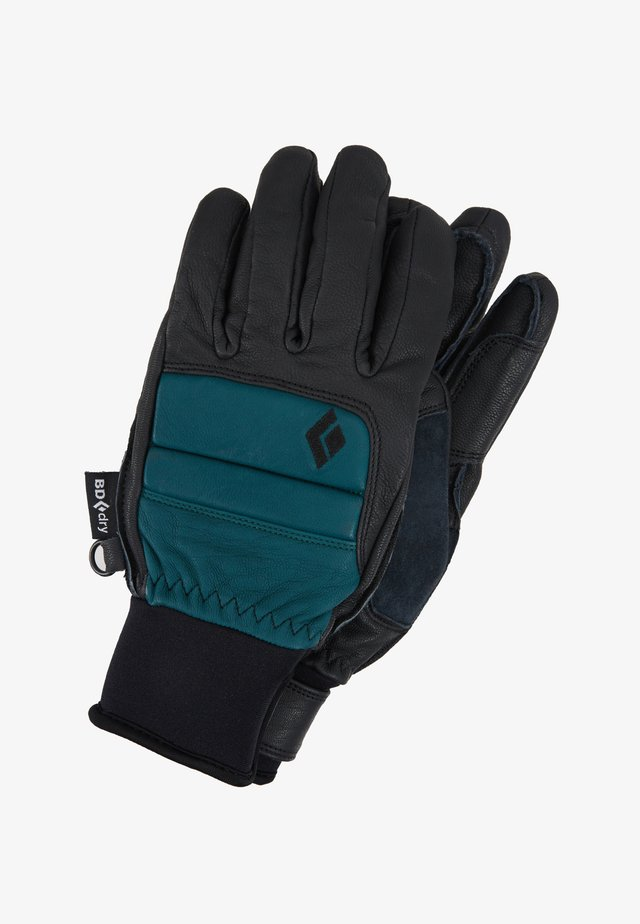 WOMENS SPARK GLOVES - Gloves - teal