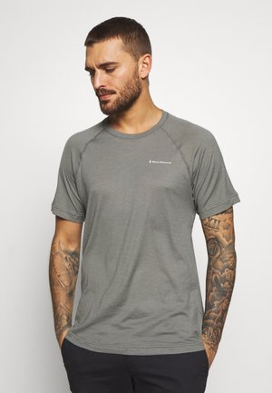 RHYTHM TEE - T-shirt med print - nickel