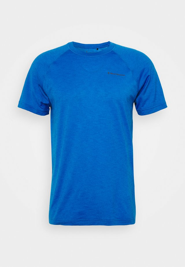 RHYTHM TEE - T-shirt imprimé - blue