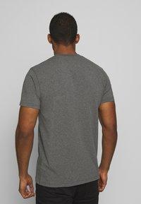 Black Diamond - STACKED LOGO TEE - T-shirts print - charcoal heather - 2