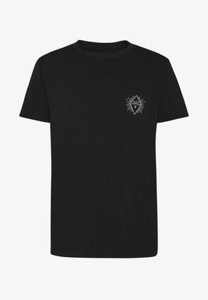 RAYS POCKET TEE - Print T-shirt - black