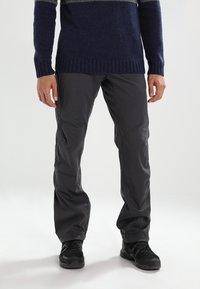 Black Diamond - CREDO - Pantalones - slate - 0