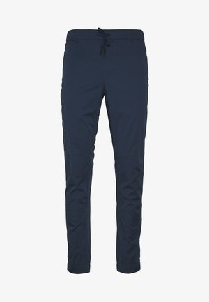 NOTION PANTS - Tygbyxor - ink blue