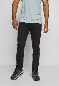 Black Diamond - STRETCH FONT PANTS - Trousers - espresso - 0
