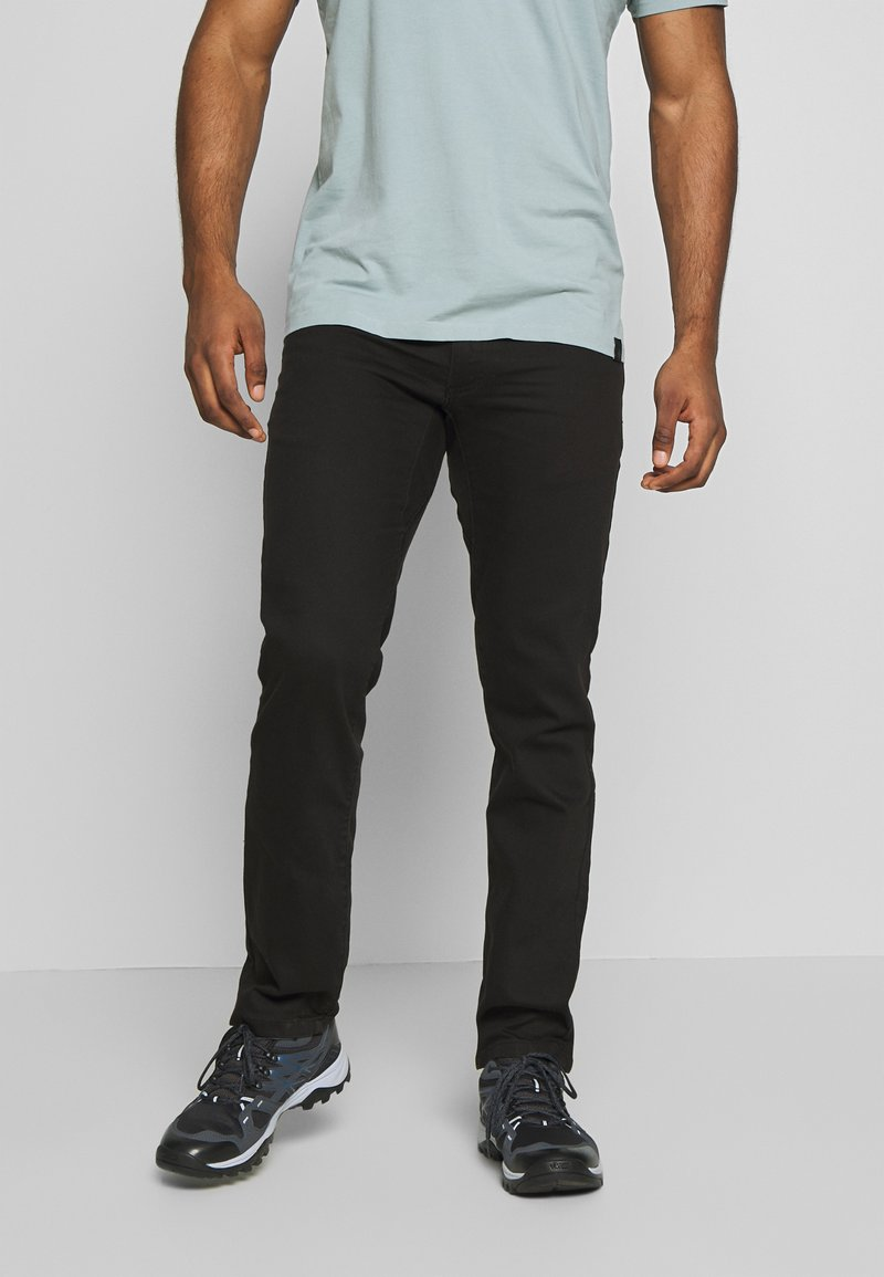 Black Diamond - STRETCH FONT PANTS - Trousers - espresso