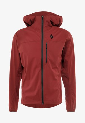 ALPINE START HOODY - Outdoor jakke - red oxide