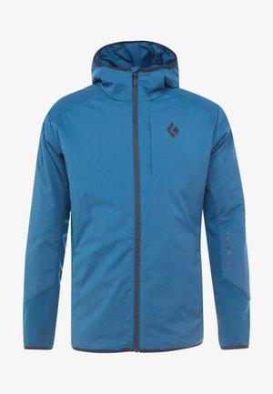 FIRST LIGHT HYBRID HOODY - Outdoor jacket - midnight