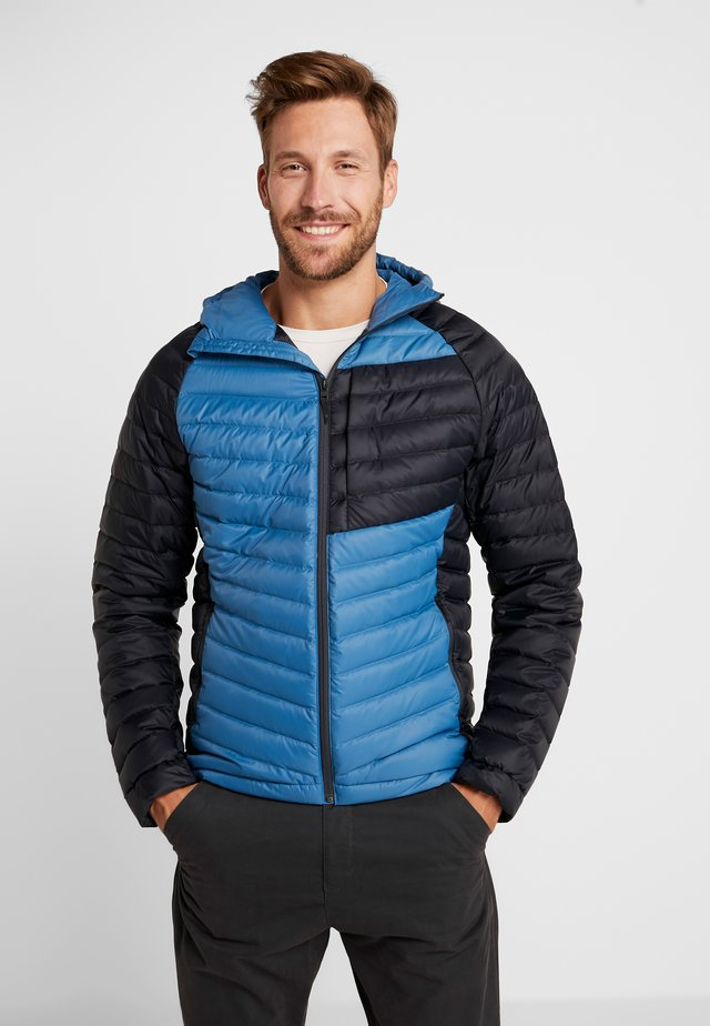 ACCESS HOODY - Down jacket - astral blue/black