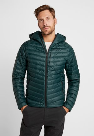 ACCESS HOODY - Down jacket - deep forest