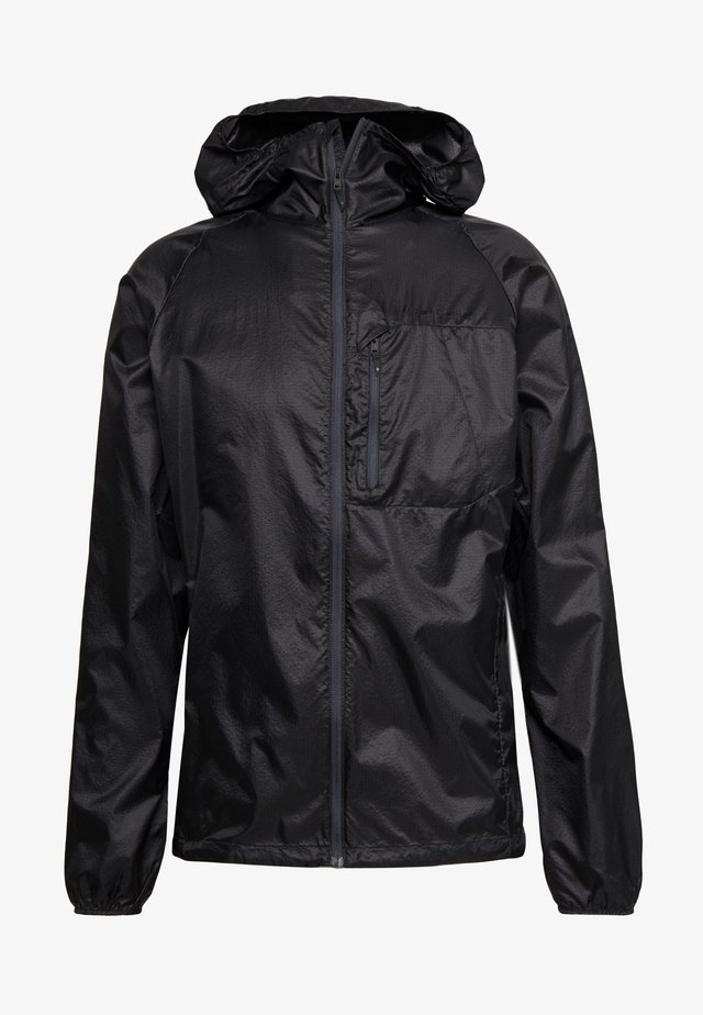 DISTANCE WIND SHELL - Outdoorjacka - black