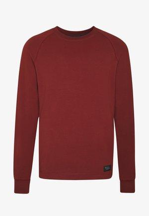 BASIS CREW - Sweatshirts - red oxide