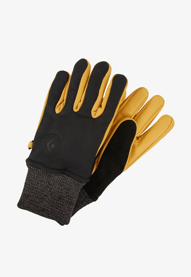 DIRT BAG GLOVES - Rukavice - black