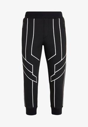 ROBOT LINES  - Pantaloni sportivi - black/white