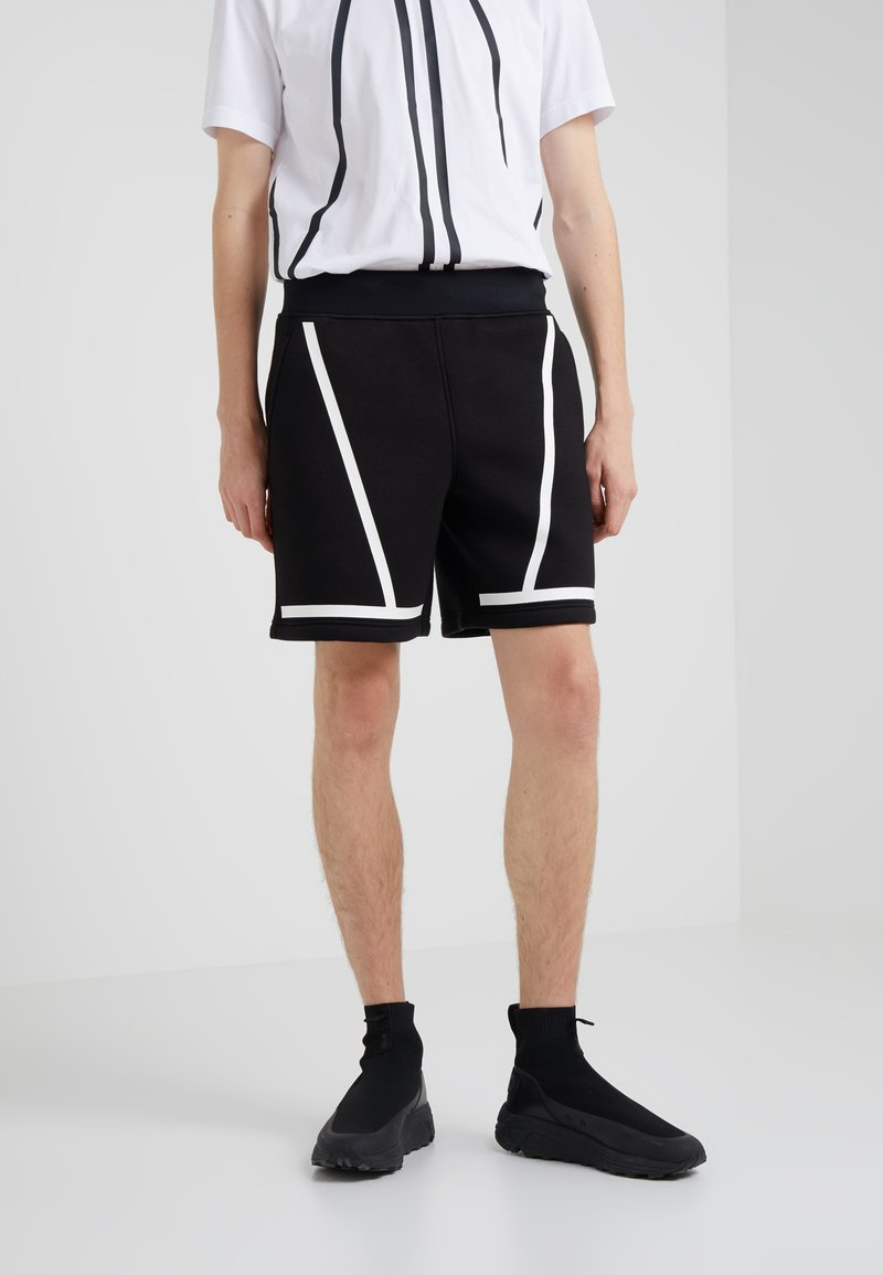 Neil Barrett BLACKBARRETT - Tracksuit bottoms - black/white