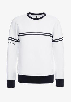 SPORT DROP - Sweatshirt - white