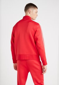 Neil Barrett BLACKBARRETT - LOGO TAPE MOCK NECK TRACK - Giacca sportiva - red/white - 2