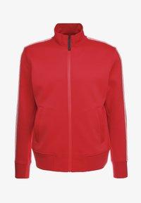 Neil Barrett BLACKBARRETT - LOGO TAPE MOCK NECK TRACK - Giacca sportiva - red/white - 3