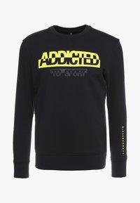 Neil Barrett BLACKBARRETT - ADDICTED TO SPORT - Sweatshirt - black/yellow - 4