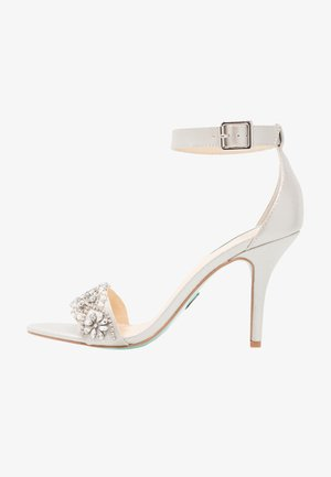 GINA - High heeled sandals - silver