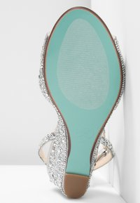 Blue by Betsey Johnson - ELORA - Wedge sandals - silver
