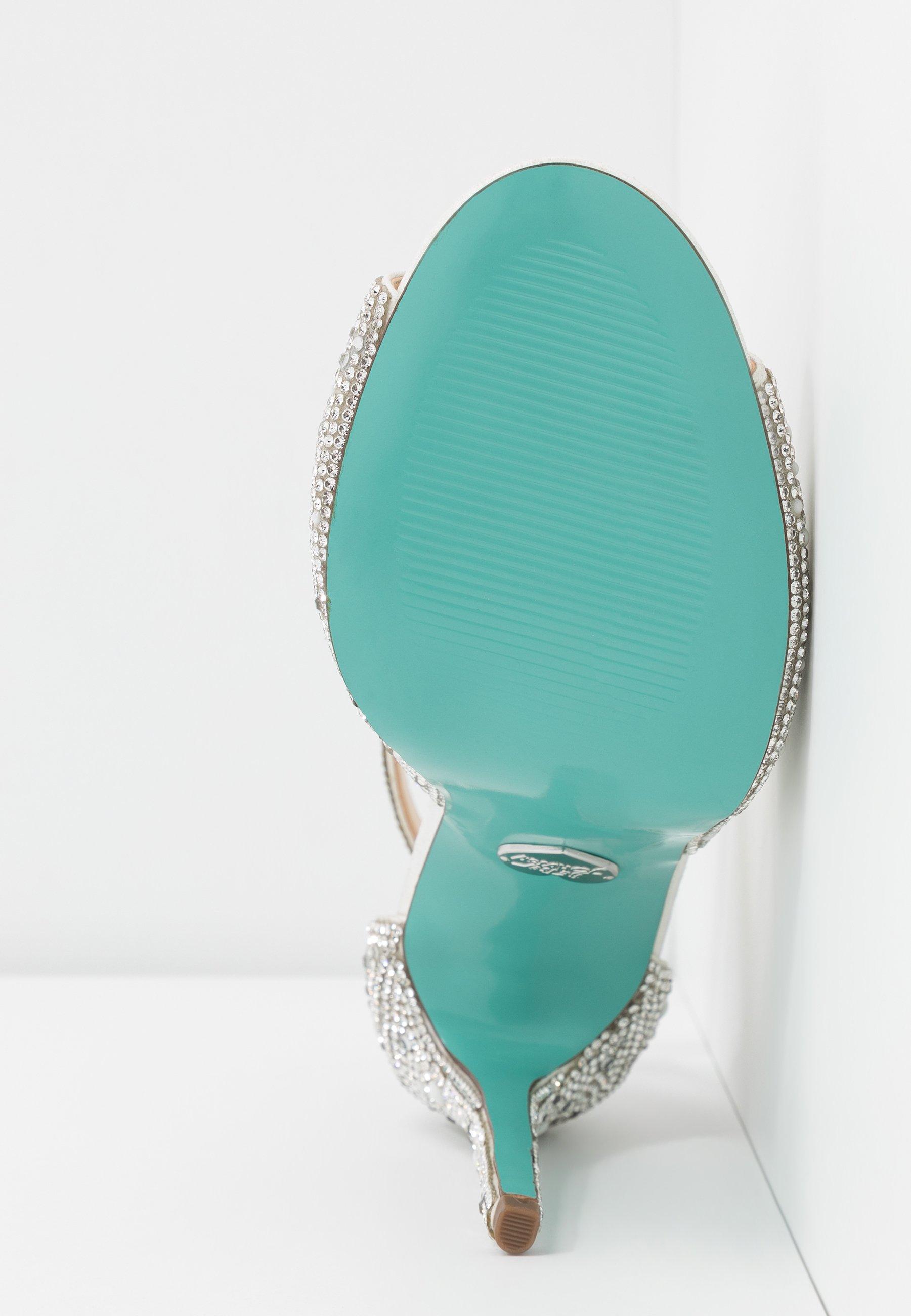 Blue by Betsey Johnson SAGE - Sandały na obcasie - ivory