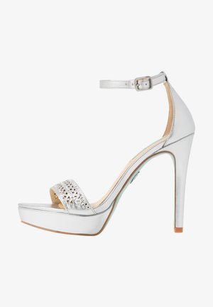 ALMA - High heeled sandals - silver