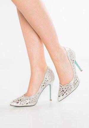 ELSA - Zapatos altos - silver