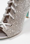 Blue by Betsey Johnson - ALEXI - High heeled ankle boots - silver