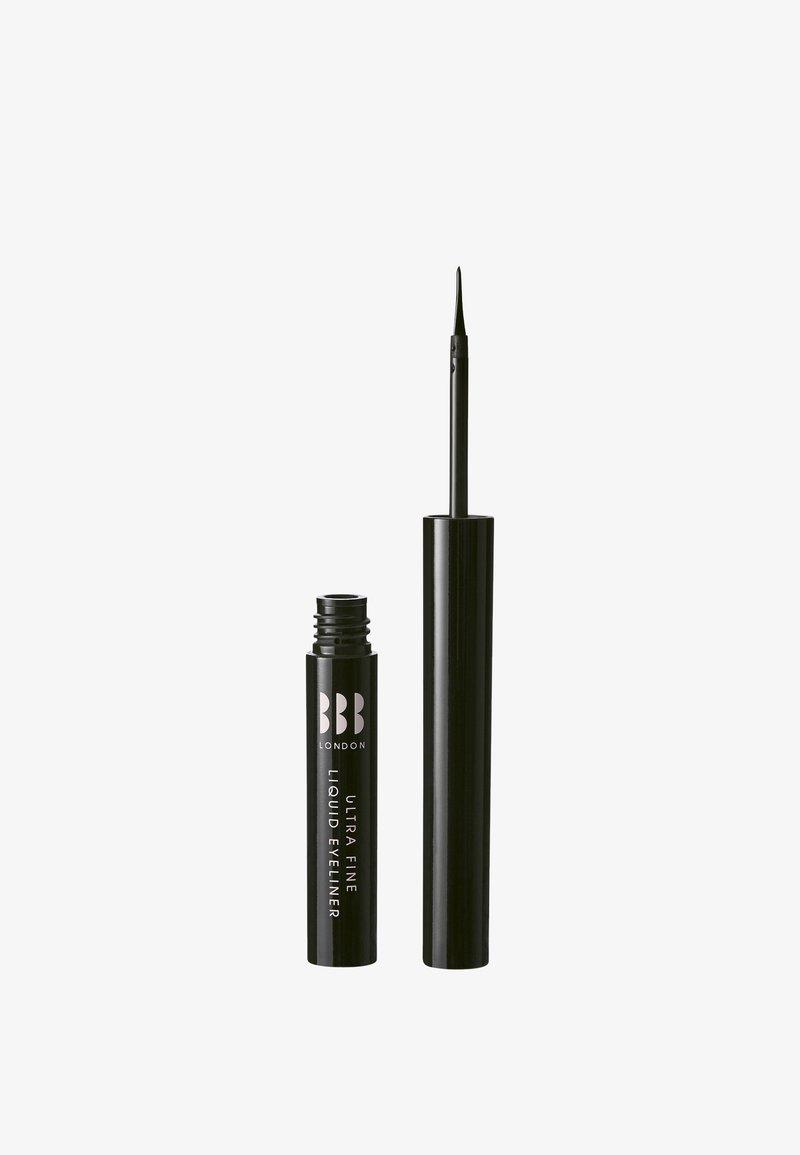 BBB London - ULTRA FINE LIQUID EYELINER - Eyeliner - black