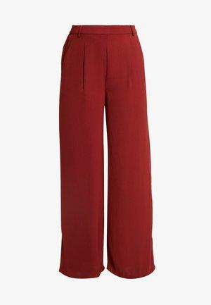 Trousers - brandy brown