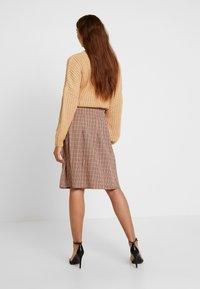 Blendshe - TAMMY - A-line skirt - orange - 2