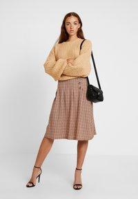 Blendshe - TAMMY - A-line skirt - orange - 1
