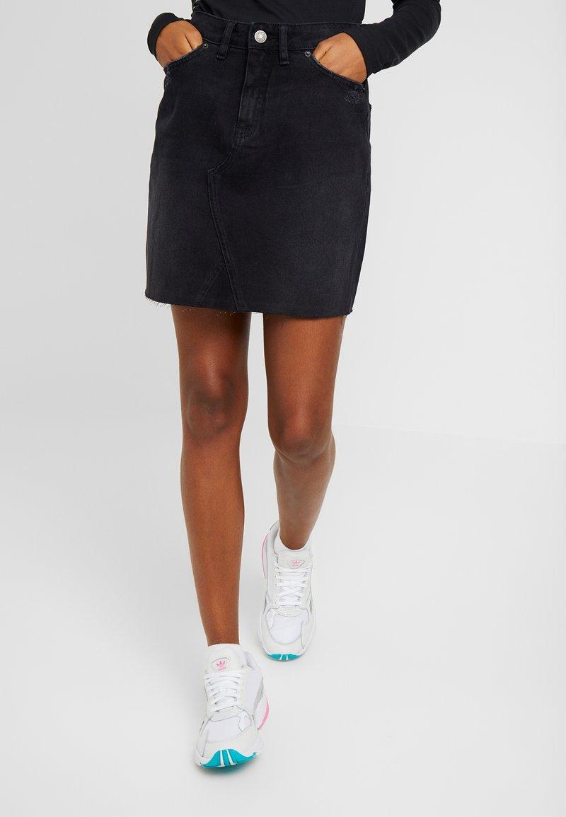 Blendshe - BSELIN - A-line skirt - backwashed