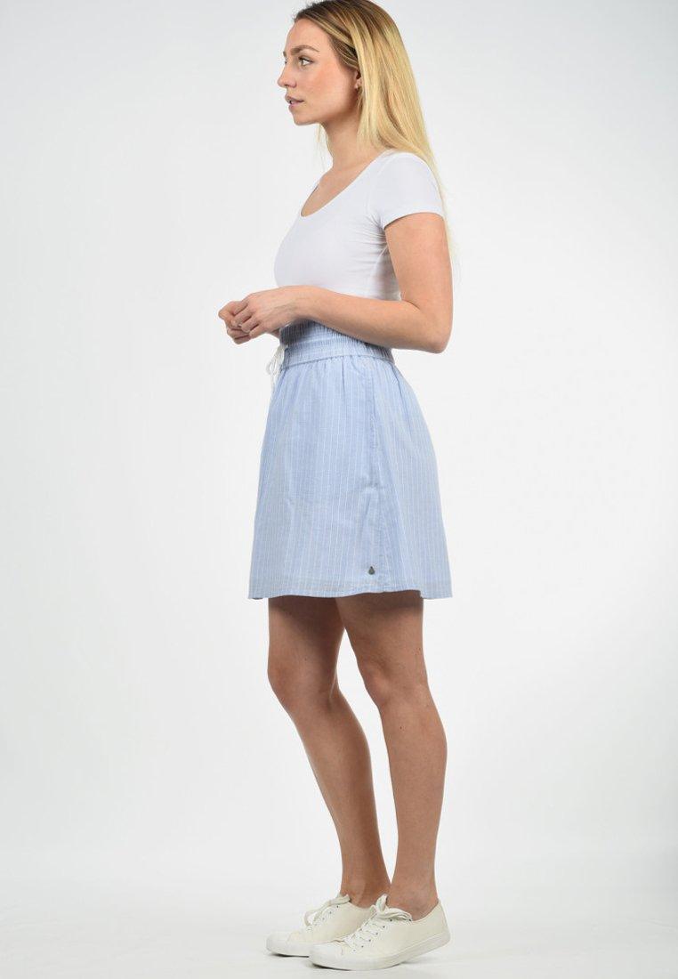 Blendshe - A-LINIEN-ROCK ANNO - A-line skirt - light blue