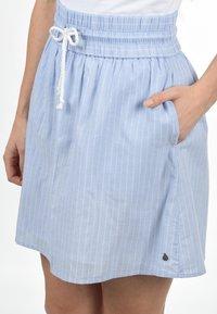Blendshe - A-LINIEN-ROCK ANNO - A-line skirt - light blue - 5
