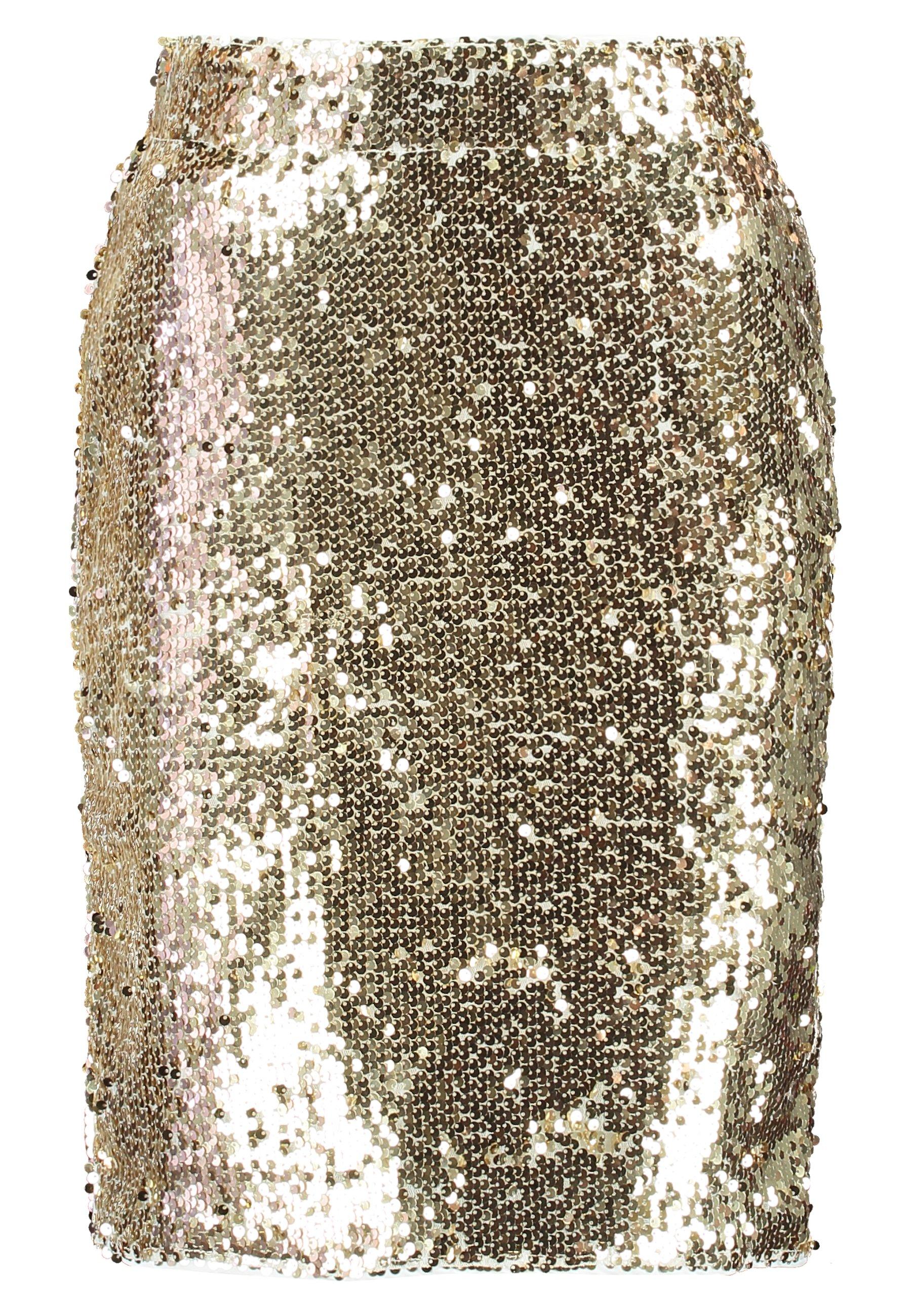 Blendshe BSCORAS SLIM - Spódnica ołówkowa - gold