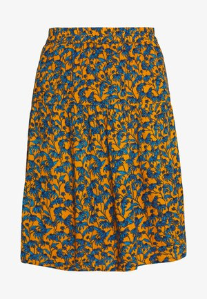 BSPERCYS - Mini skirt - orange/blue