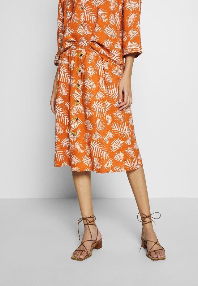 Áčková sukně - mango