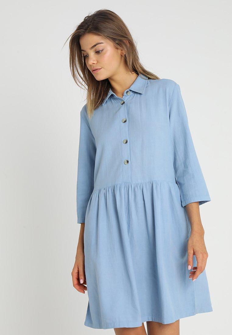 Blendshe - Skjortekjole - placid blue