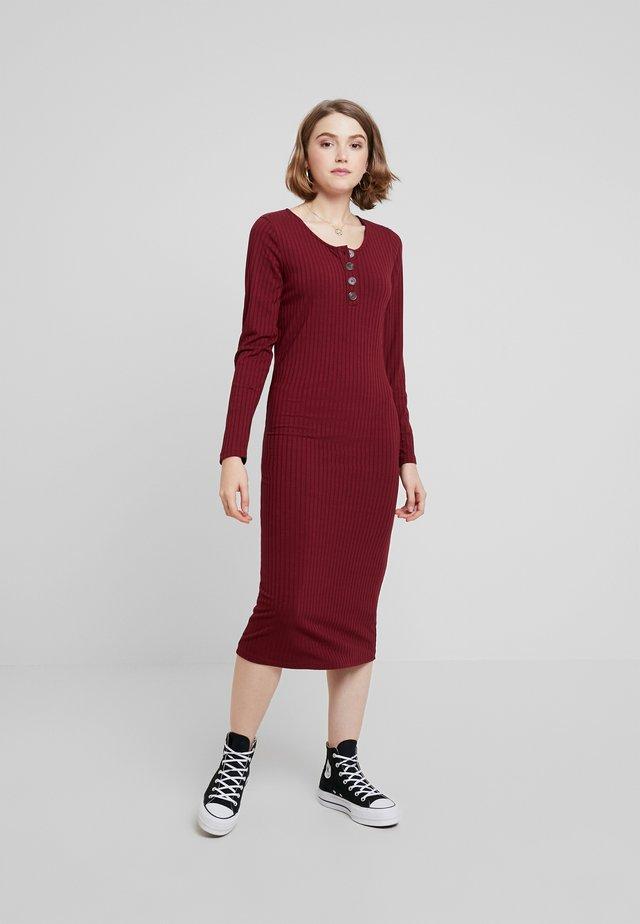 SLIM - Robe pull - tawny port