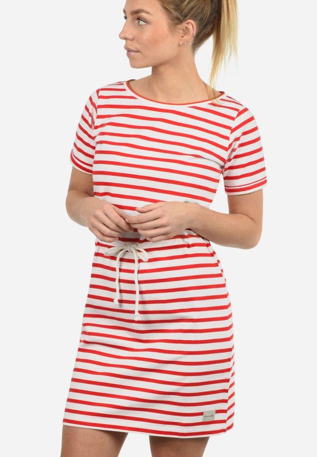 ENA - Jersey dress - fiery red